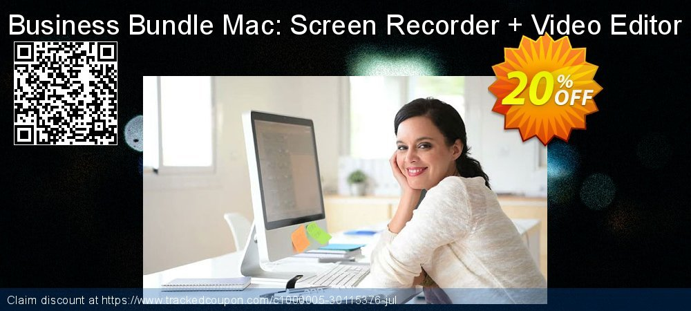 Business Bundle Mac: Screen Recorder + Video Editor coupon on New Year offering discount