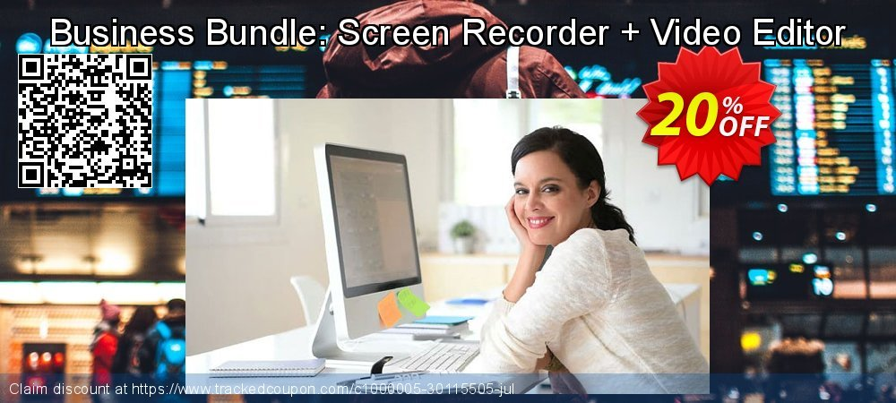 Business Bundle: Screen Recorder + Video Editor coupon on New Year's Day discounts