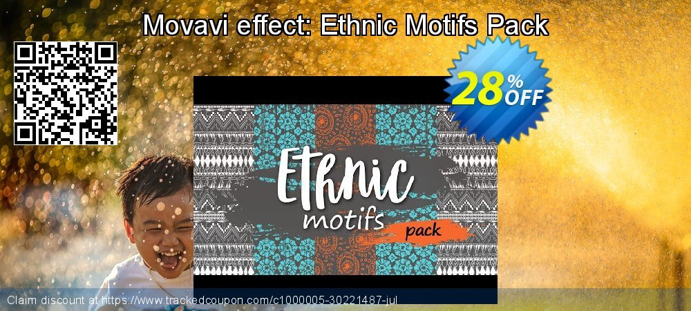 Movavi effect: Ethnic Motifs Pack coupon on Black Friday super sale