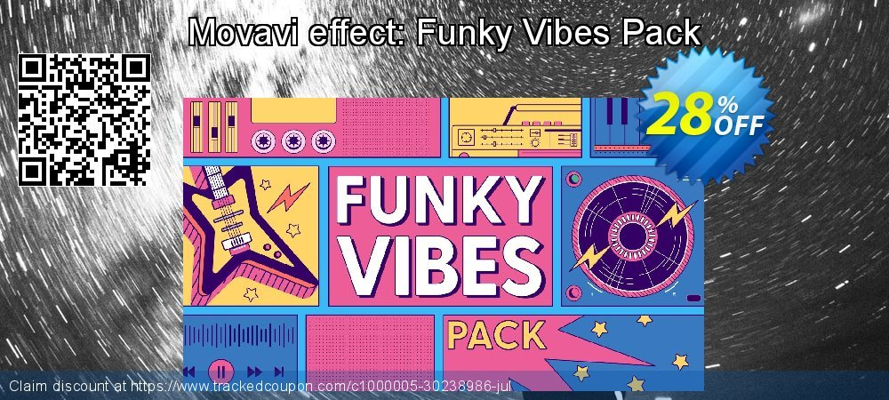 Movavi effect: Funky Vibes Pack coupon on Thanksgiving sales