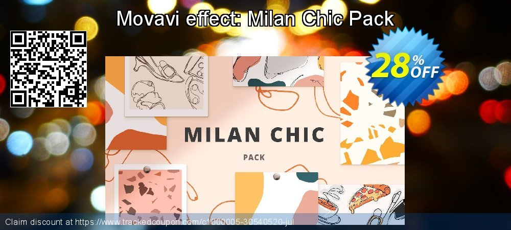 Movavi effect: Milan Chic Pack coupon on Teacher deals offering sales