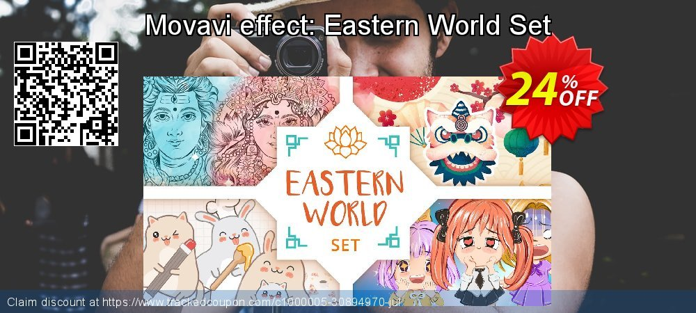 Movavi effect: Eastern World Set coupon on Thanksgiving deals