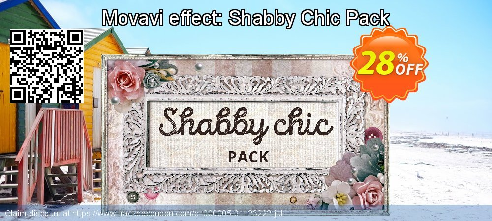 Movavi effect: Shabby Chic Pack coupon on Christmas Day offering sales