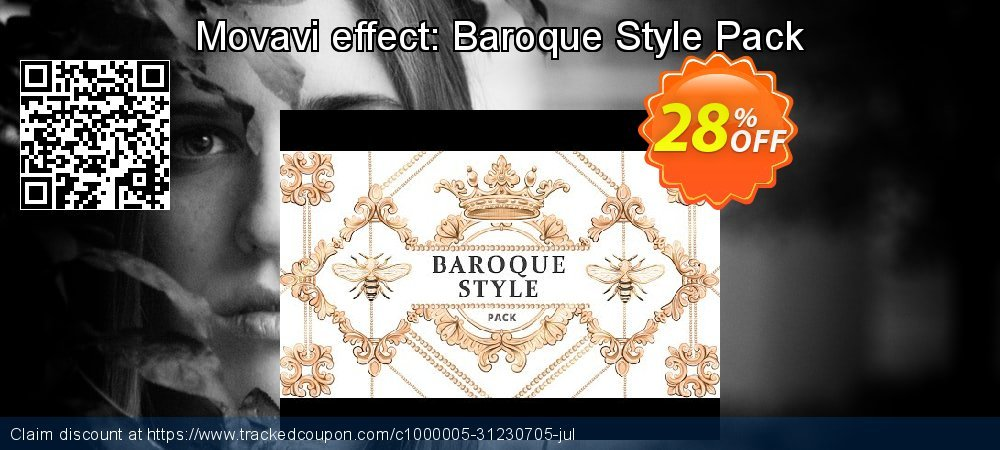 Movavi effect: Baroque Style Pack coupon on Black Friday sales