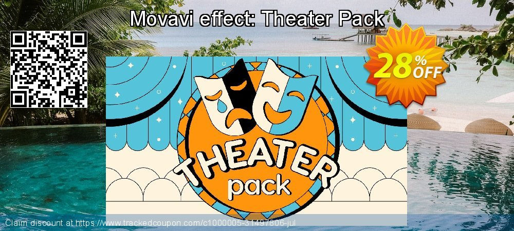 Movavi effect: Theater Pack coupon on Xmas Day sales
