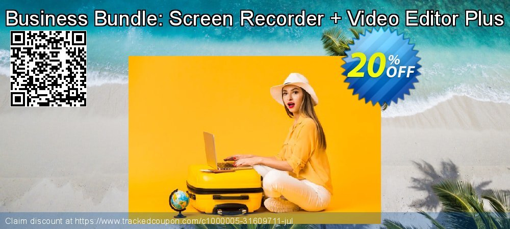 Business Bundle: Screen Recorder + Video Editor Plus coupon on Black Friday discounts