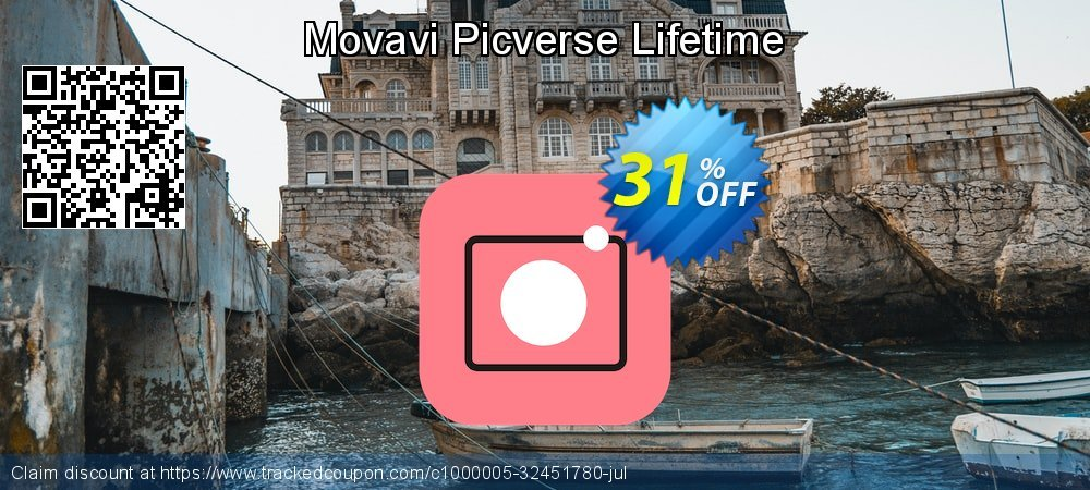 Movavi Picverse Lifetime coupon on World Milk Day offering discount