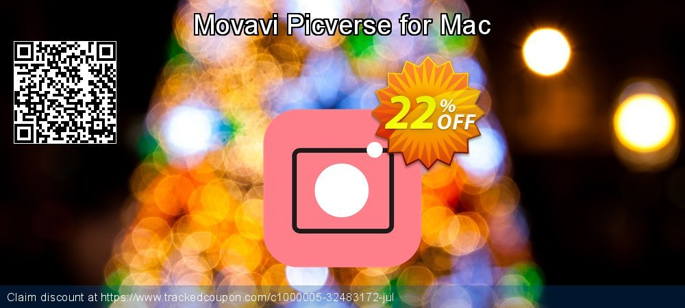 Movavi Picverse for Mac coupon on American Independence Day offering sales