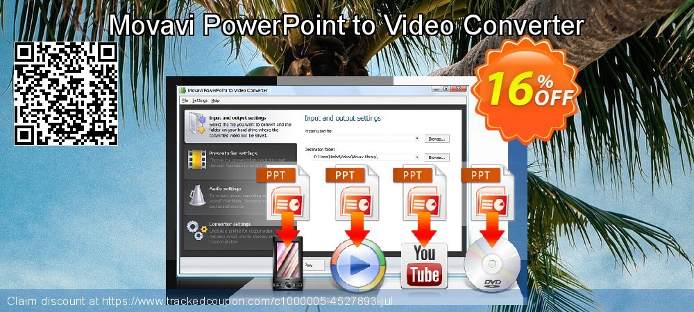 Movavi PowerPoint to Video Converter coupon on Black Friday promotions