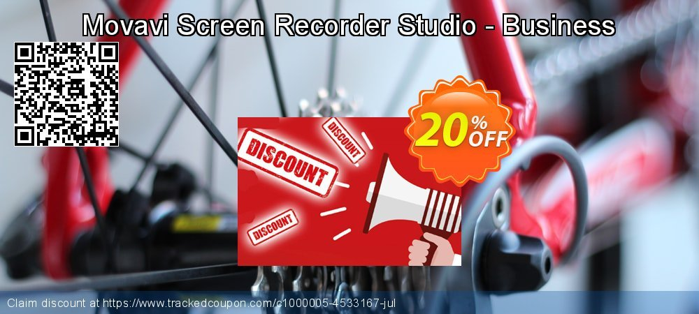 Movavi Screen Recorder Studio - Business coupon on Exclusive Student deals super sale