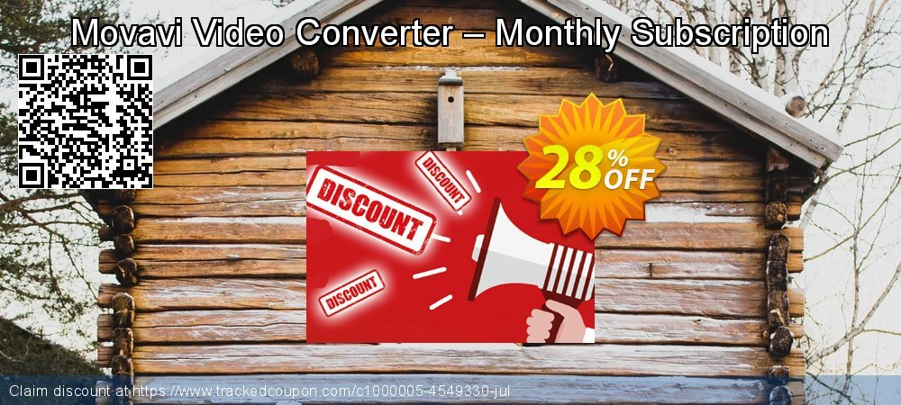 Movavi Video Converter – Monthly Subscription coupon on Back to School shopping offering sales