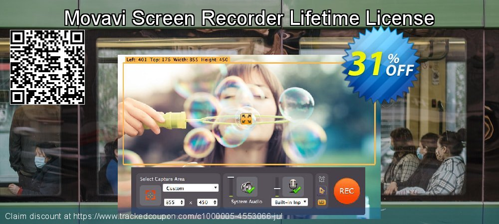 Movavi Screen Recorder coupon on May Day offer