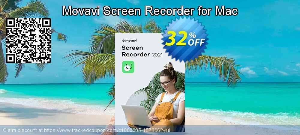 Movavi Screen Recorder for Mac coupon on Thanksgiving promotions