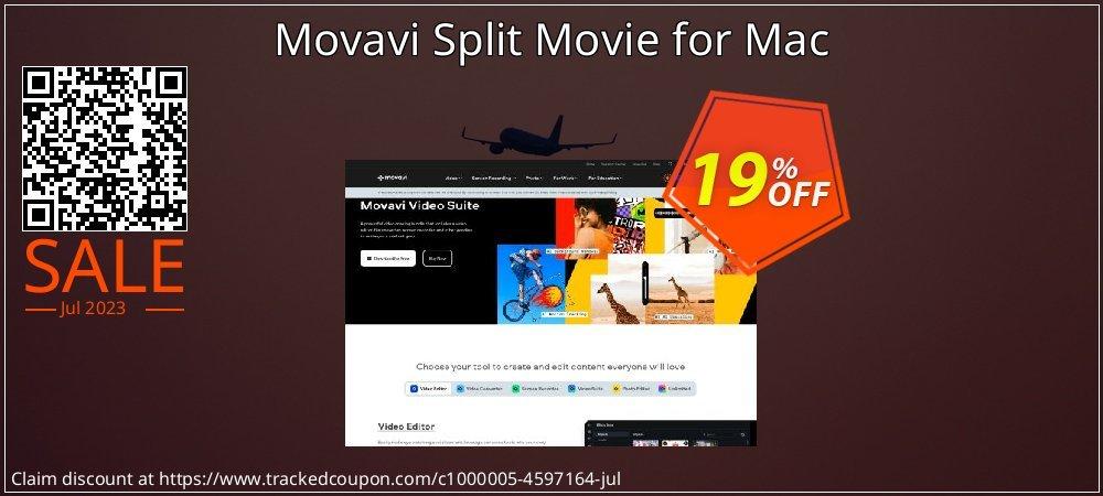 Movavi Split Movie for Mac coupon on Thanksgiving super sale