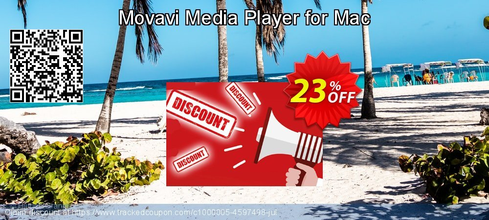 Movavi Media Player for Mac coupon on Valentine Week sales