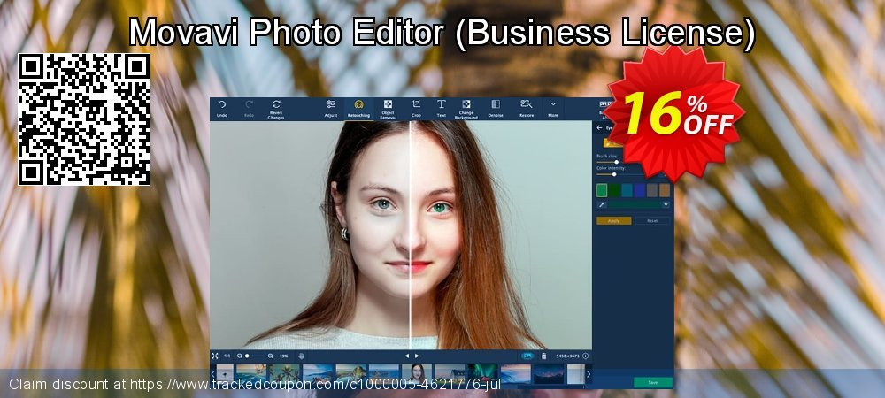 Movavi Photo Editor - Business License  coupon on Thanksgiving discount