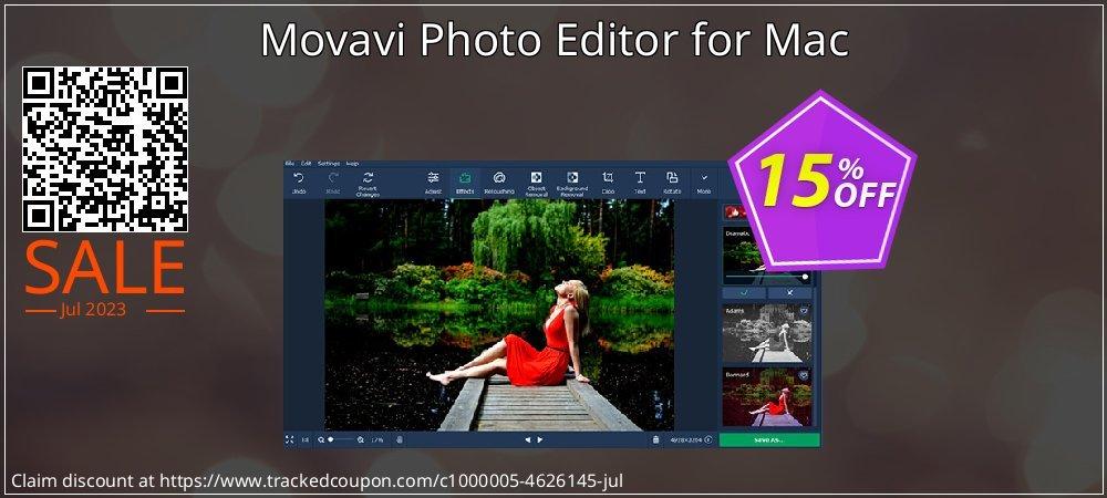 Movavi Photo Editor for Mac coupon on Black Friday discounts