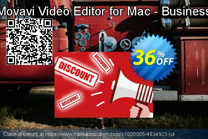 Movavi Video Editor for Mac - Business License  coupon on Back to School promotions promotions