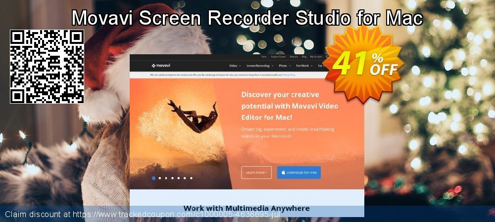 Movavi Screen Recorder Studio for Mac coupon on Back to School coupons discounts