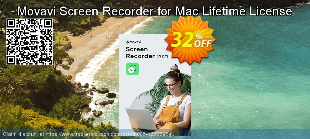 Movavi Screen Recorder Studio for Mac coupon on Black Friday sales
