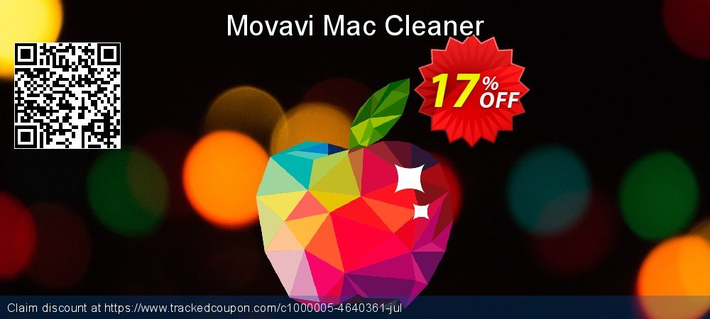 Movavi Mac Cleaner coupon on Halloween offer