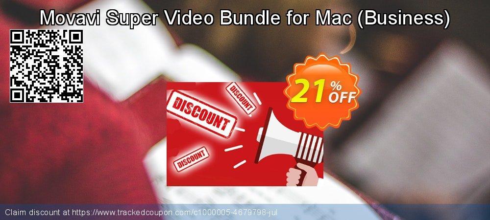 Movavi Super Video Bundle for Mac - Business  coupon on Teacher deals sales