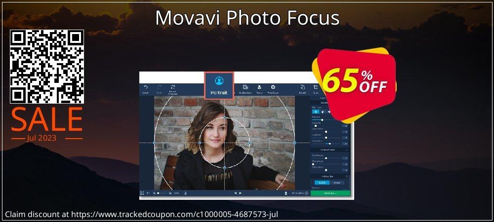 Movavi Photo Focus coupon on Halloween sales