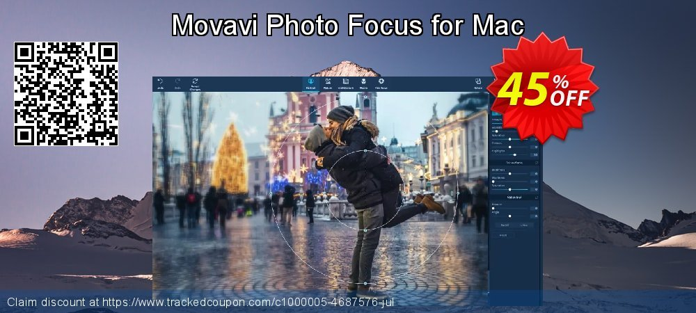 Movavi Photo Focus for Mac coupon on Thanksgiving offering discount