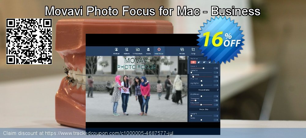 Movavi Photo Focus for Mac - Business coupon on Black Friday offering sales