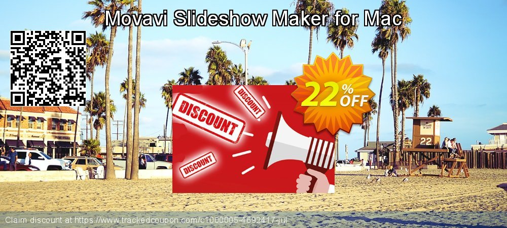 Get 15% OFF Movavi Slideshow Maker for Mac discount