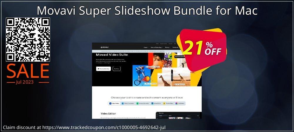 Movavi Super Slideshow Bundle for Mac coupon on Thanksgiving discount