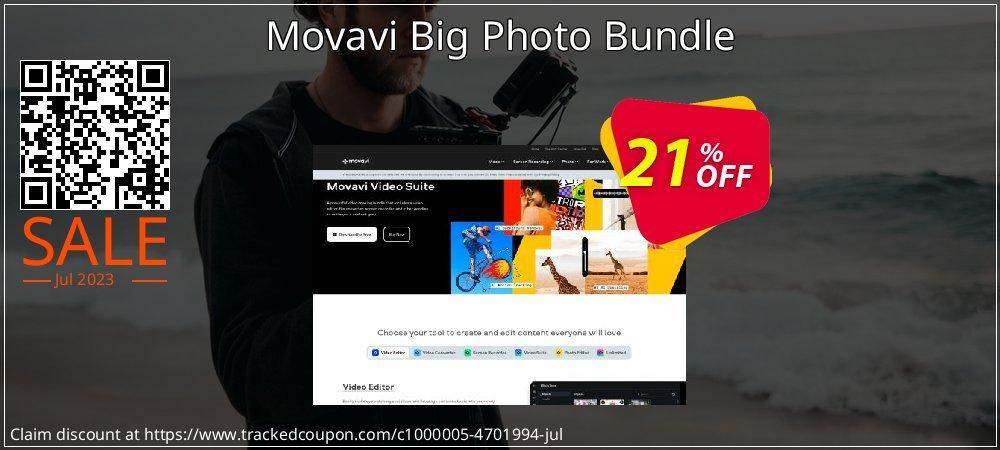 Movavi Big Photo Bundle coupon on Exclusive Student deals offer