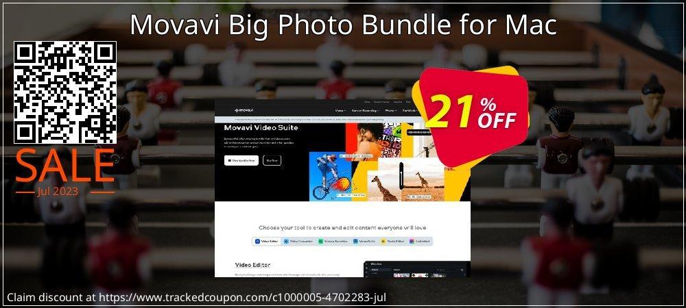 Movavi Big Photo Bundle for Mac coupon on Exclusive Student deals discount