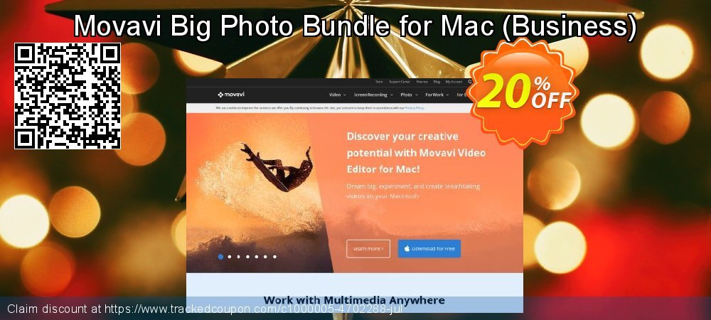 Movavi Big Photo Bundle for Mac - Business  coupon on University Student deals promotions