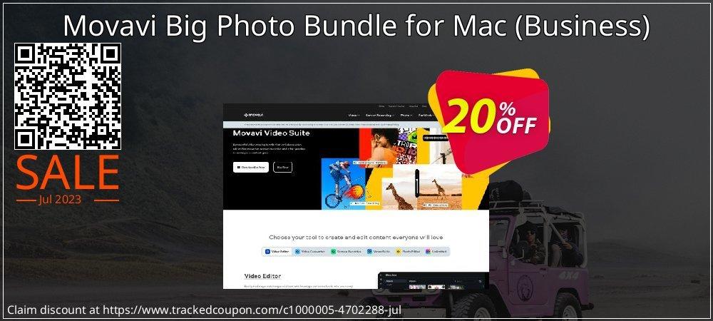 Movavi Big Photo Bundle for Mac - Business  coupon on Thanksgiving deals