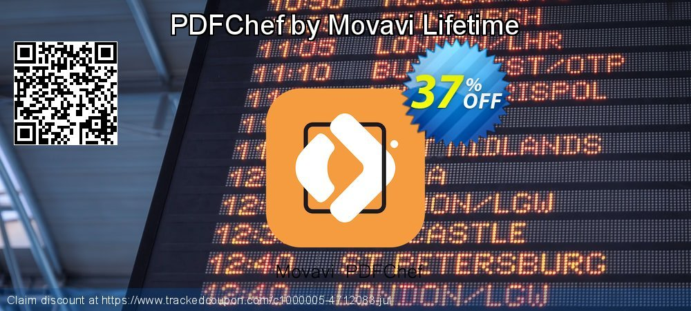 Movavi PDF Editor coupon on Back to School promotion offer