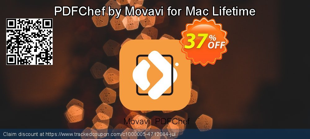 PDFChef by Movavi for Mac coupon on Thanksgiving offering sales