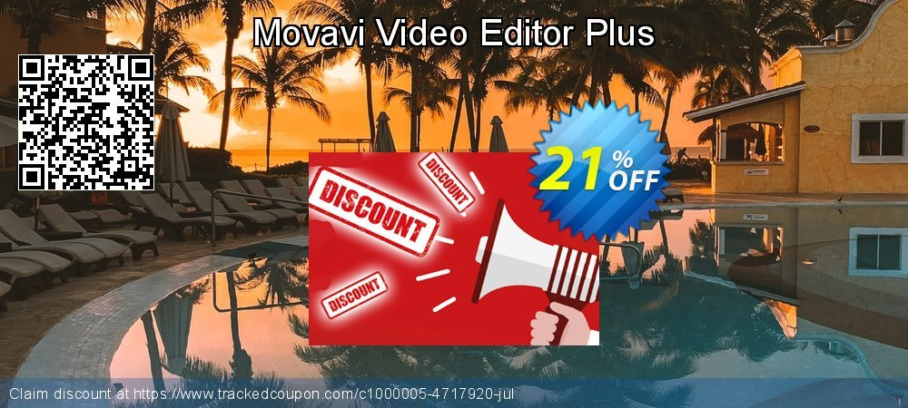 Movavi Video Editor Plus coupon on Back to School offer discounts