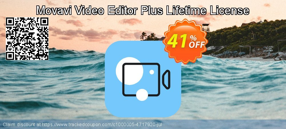 Movavi Video Editor Plus coupon on Thanksgiving sales