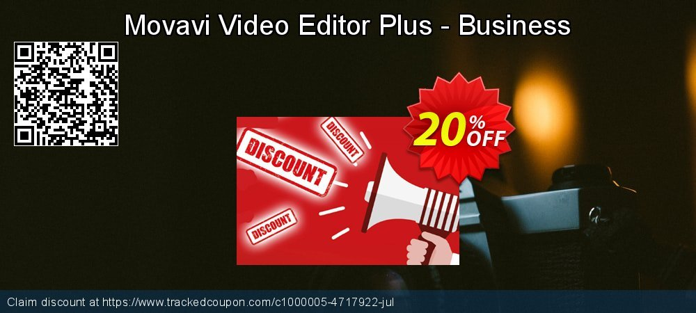 Movavi Video Editor Plus - Business coupon on Back to School season sales