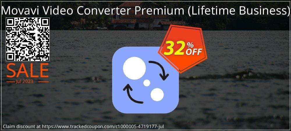 Movavi Video Converter Premium - Lifetime Business  coupon on Black Friday super sale