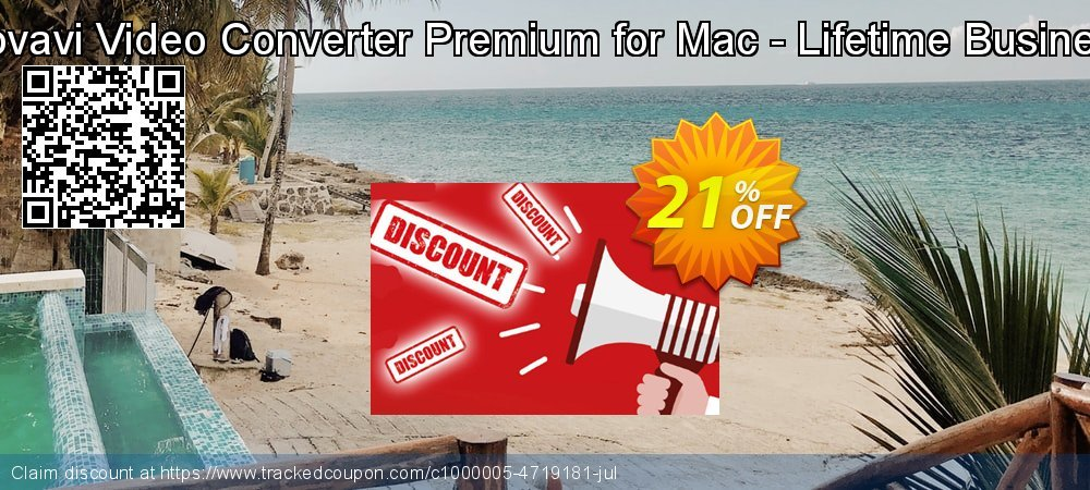 Movavi Video Converter Premium for Mac - Lifetime Business coupon on Exclusive Student deals promotions