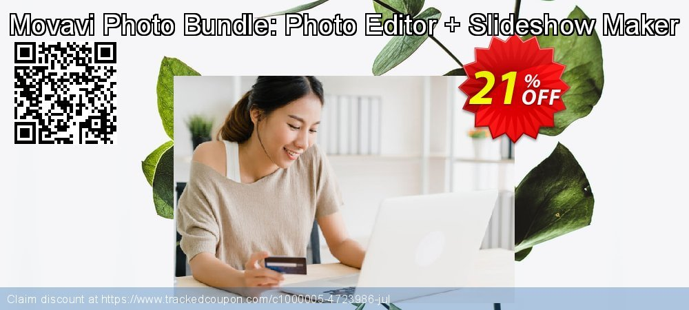 Movavi Photo Bundle: Photo Editor + Slideshow Maker coupon on Thanksgiving sales