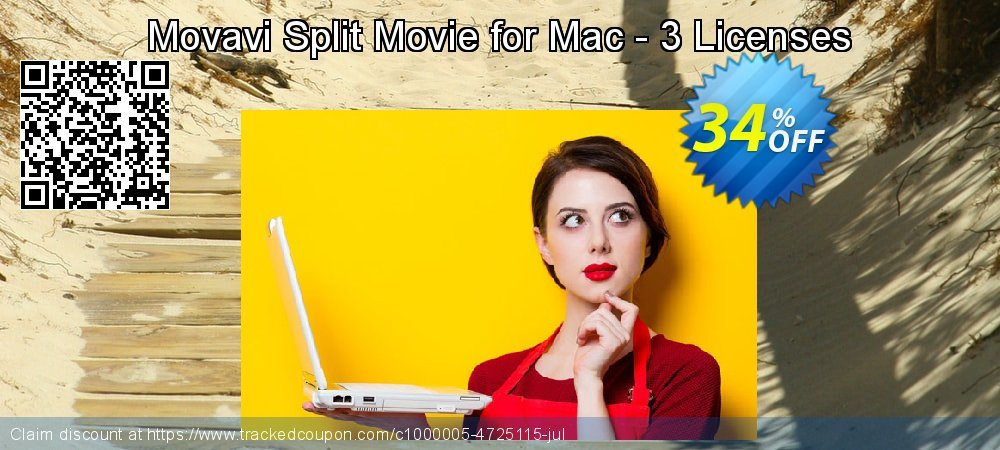 Movavi Split Movie for Mac - 3 Licenses coupon on Black Friday offering discount