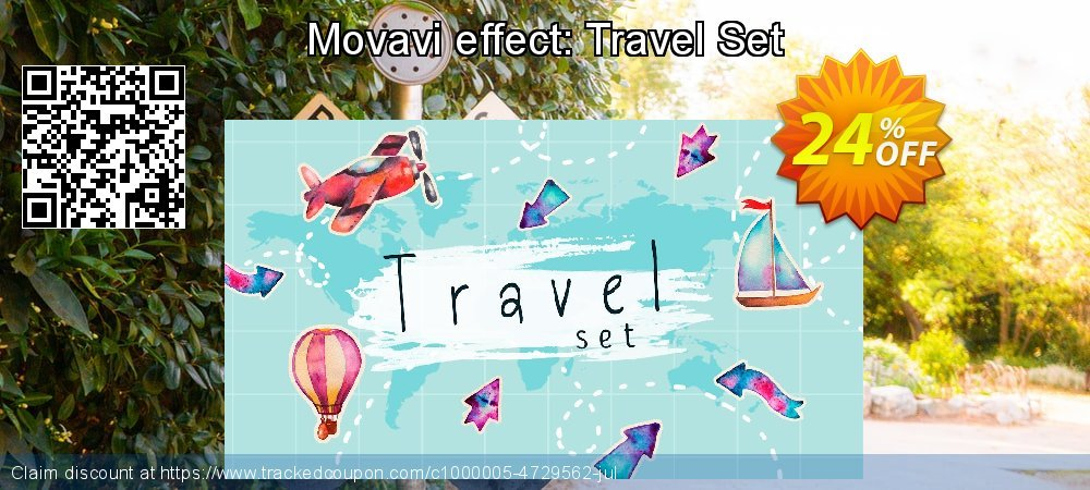 Movavi effect: Travel Set coupon on Happy New Year offering discount