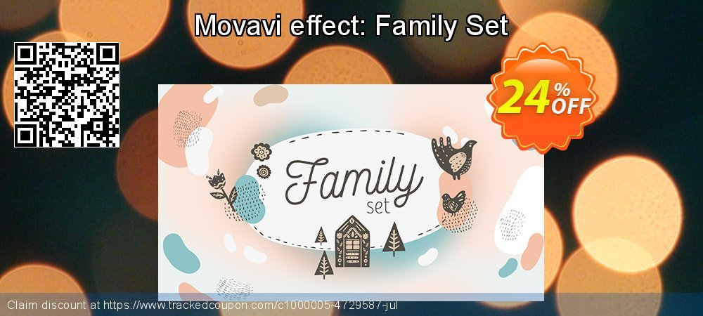 Movavi Family Set coupon on Exclusive Student discount deals