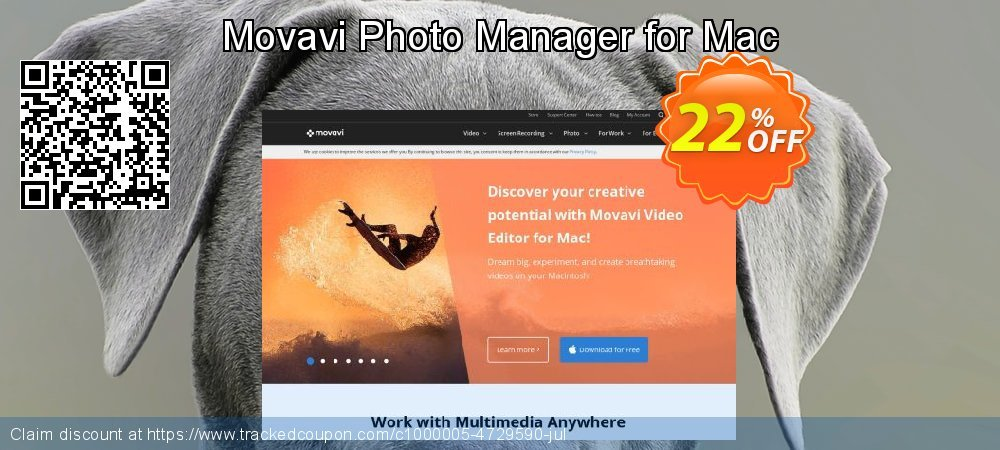 Movavi Photo Manager for Mac coupon on University Student deals offering discount