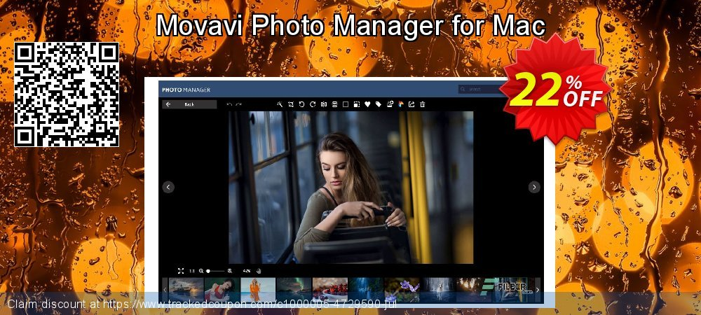 Movavi Photo Manager for Mac coupon on Thanksgiving super sale