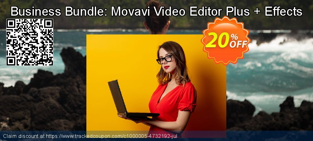 Business Bundle: Movavi Video Editor Plus + Effects coupon on Halloween super sale