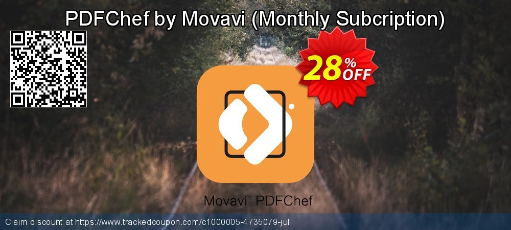 PDFChef by Movavi - Monthly Subcription  coupon on Lunar New Year offering discount